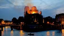 Notre-Dame brann den 15 april 2019.