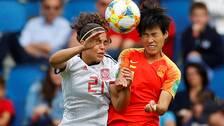 Kina och Spanien gick båda vidare till åttondel efter att ha spelat 0-0.