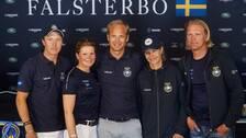 Sveriges lag, förutom Peder Fredricson, i Nations Cup.