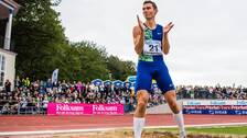 Thobias Montler, Malmö AI, tävlar i längdhopp under friidrottstävlingen Folksam Grand Prix den 16 augusti 2019 i Göteborg.