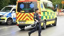 Ambulans i Pildammsparken i Malmö