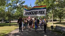 Pridetåg i Härnösand