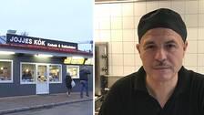 Mustafa Türkkan som äger Jojjes kök vägrar lämna lokalerna i Oskarshamn, trots att han förlorade tvisten i hyresnämnden. Nu sätter han hoppet till att tingsrätten ska göra en annan bedömning, och inte tvångsavhysa honom.