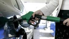 Jättehöjning av bensinpriset