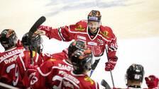 """Mathias Bromé jublar efter sitt """"Foppa-mål"""""""
