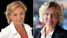 Eva Hamilton och Anna Serner reagerar med besvikelse på budgetbeskedet från regeringen.