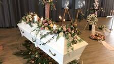 Karolin Hakims begravning.