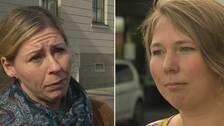 Elisabet Lann (KD), kommunalråd och Emmali Jansson (MP) vice ordförande i fastighetsnämnden.