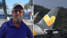 Flygexpert Håkan Wasén som berättar om flygbolaget Vings framtid om företagets ägare Thomas Cook skulle gå i konkurs.