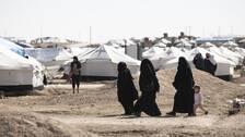 Flyktinglägret Al Haul i norra Syrien.