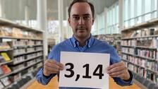 Läraren Martin Nilsson från Halmstad slog ett världsrekord i minne.