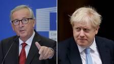 EU och Johnson överens om brexit