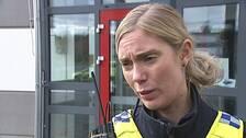 Intervjubild på Viktoria Norman, polis.