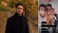 SVT Nyheters reporter Diamant Salihu granskar livesändningar på sociala medier. Till höger syns en bild från ett uppmärksammat brottsfall som sändes live på Facebook.