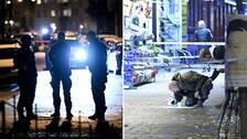 Poliser i Malmö.
