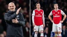 Fredrik Ljungberg har fått en tuff start som tränare i Arsenal.