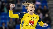 Svenska storskytten Mikaela Mässing.