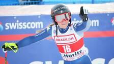 Sofia Goggia slog till med ett superåk i St Moritz.