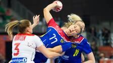 Ryssland tog hem bronset efter 33-28 mot Norge.