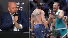 UFC:s president Dana White vill se Conor McGregor möta lättviktsmästaren Khabib Nurmagomedov.