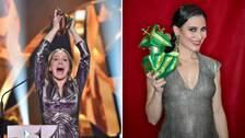 Emelie Garbers jublar över priset för bästa kvinnliga huvudroll och Bianca Cruzeiro vann bästa kvinnliga biroll. Totalt tog scifi-äventyret Aniara hem fyra guldbaggar.