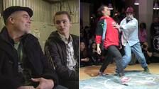 Den udda dansduon gjorde succé på dansmästerskapet i Stockholm i helgen.