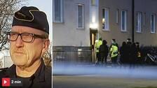 """""""Vi jobbar tillsammans med vår underrättelsetjänst"""", säger Lokalpolisområdeschef Peter Wahlberg i Norrköping."""