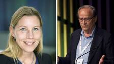 Jenny Schultze och Arne Ljungqvist.