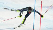 Anna Swenn-Larsson körde ur med bara fyra portar kvar