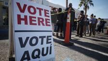 Förtidsröstning i Nevada
