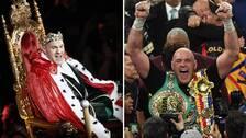 Tyson Fury kom och lämnade nattens stormatch som en kung.