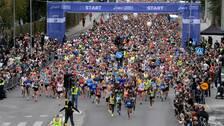 Stockholm Marathon skjuts upp