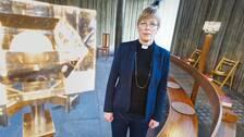 Karin Sarja, kyrkoherde i Gävle.