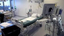 Sjukhusen i Sverige ska nu räkna med att det kan behövas så mycket som 8603 vårdplatser för patienter med covid-19 och 1685 intensivvårdsplatser.