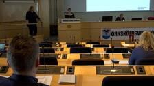 Kommunfullmäktigesalen i Örnsköldsvik