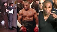 Boxaren Mike Tyson är en av tidernas mest kontroversiella idrottsstjärnor.