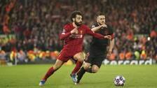 Liverpools Mohamed Salah i duell med Atlético Madrids Koke under det kontroversiella Champions League-mötet i mars.