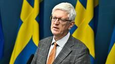 Johan Carlson, generaldirektör på Folkhälsomyndigheten