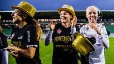 Rosengård firar SM-guldet 2019.