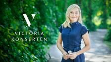 Yvette Hermundstad, programledare för Victoriakonserten.