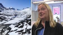 Hör Birgitta Nilsson på infocenter i Jokkmokks kommun berätta om riskerna för ovana vandrare i Sareks nationalpark.