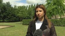 Laura Sbeiti, bostadssökande student.