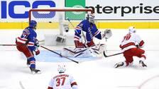 Igor Sjestiorkin fick chansen i Rangers mål