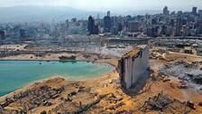Så har Beirut drabbats – område efter område.
