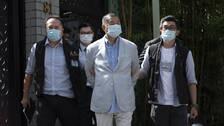 Mediemogulen och demokratiaktivisten Jimmy Lai har gripits i Hongkong i enlighet med den nya säkerhetslagen.