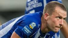 IFK Göteborgs Jakob Johansson deppar under fotbollsmatchen i Allsvenskan mellan Kalmar och IFK Göteborg den 13 augusti 2020 i Kalmar.