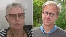 Anki Sandberg, ordförandeförriksförbundet Attention och Björn Hofvander, specialist i klinisk psykologi,