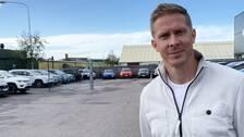Christian Olsson är en av sveriges största idrottare genom tiderna. Nu säljer han bilar i Kungsbacka.