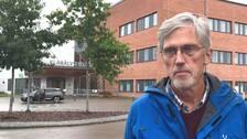 Ingemar Hallén utanför Centralsjukhuset i Karlstad.