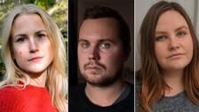 Kajsa Asp, Fredrik Eriksson och Jennie Abrahamsson